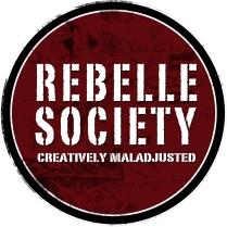 Logo design. Company: Rebelle Society