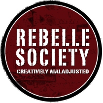 Logo design. Company: Rebelle Society