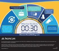 Infographic design for a marketing campaign. Created in Adobe Illustrator CC. Company: Pacific Life Insurance.